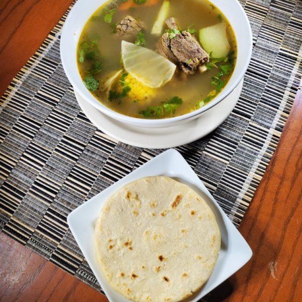 Sopa De Res (Beef Soup)